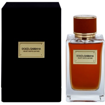 Dolce & Gabbana Velvet Exotic Leather eau de parfum per uomo 150 ml