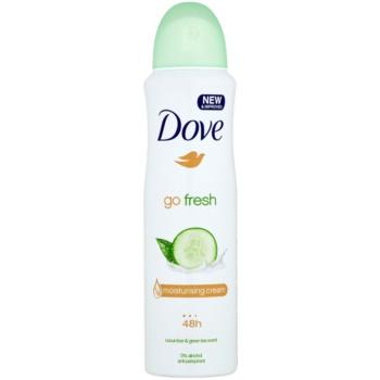 Dove Go Fresh Fresh Touch deodorante antitraspirante in spray 48 ore cetriolo e the verde  150 ml