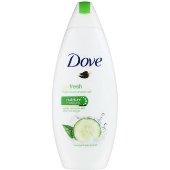 Dove Go Fresh Fresh Touch gel doccia nutriente (Cucumber & Green Tea Scent) 250 ml