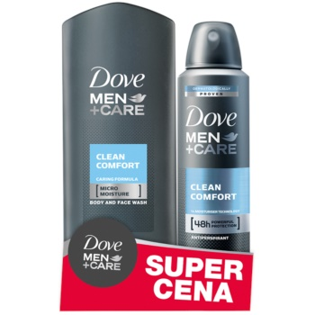 Dove Men+Care Clean Comfort set di cosmetici I.