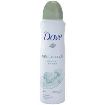 Dove Natural Touch deodorante antitraspirante in spray 48h (Anti-perspirant Deodorant) 150 ml