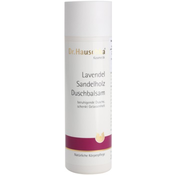 Dr. Hauschka Shower And Bath balsamo doccia con lavanda e legno di sandalo (Lavender Sandalwood Calming Body Wash) 200 ml