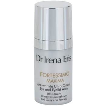 Dr Irena Eris Fortessimo Maxima 55+ crema antirughe per il contorno occhi (For Eye and Eyelid Area) 15 ml