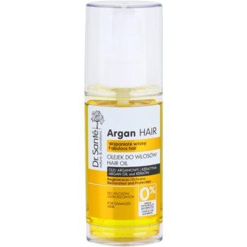 Dr. Santé Argan siero rigenerante per capelli rovinati (Argan Oil and Keratin, Restoration and Protection) 50 ml