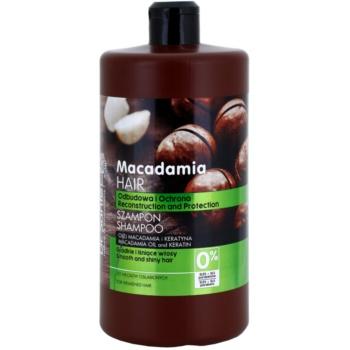 Dr. Santé Macadamia shampoo per capelli deboli (Macademia Oil and Keratin, Reconstruction and Protection) 1000 ml