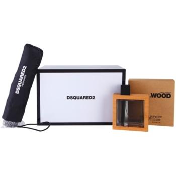 Dsquared2 He Wood kit regalo III eau de toilette 100 ml + ombrello