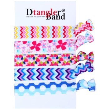 Dtangler DTG Band Set elastici per capelli 5 pz (Flower)