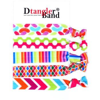 Dtangler DTG Band Set elastici per capelli 5 pz (Disco) 5 pz