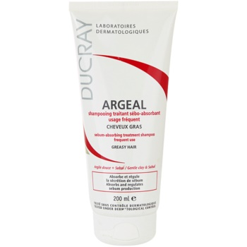 Ducray Argeal shampoo per capelli grassi (Sebum-absorbing Treatment Shampoo Frequent Use - Greasy Hair) 200 ml