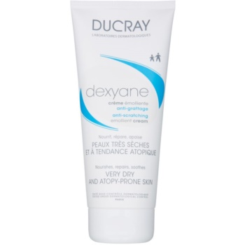 Ducray Dexyane crema emolliente per per pelli molto secche, sensibili e atopiche Fragrance Free (For Children from 3 Year and Adults) 200 ml