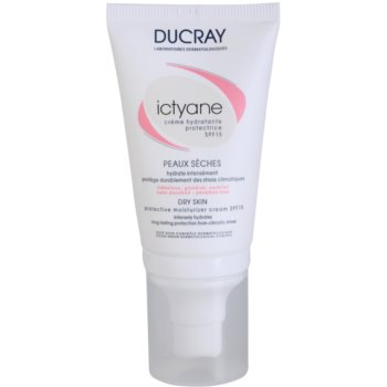 Ducray Ictyane crema idratante e protettiva SPF 15 (Protective Moisturizer Cream SPF 15) 40 ml