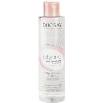 Ducray Ictyane acqua micellare detergente per viso e occhi (Moisturizing Micellar Water For Face And Eyes) 200 ml