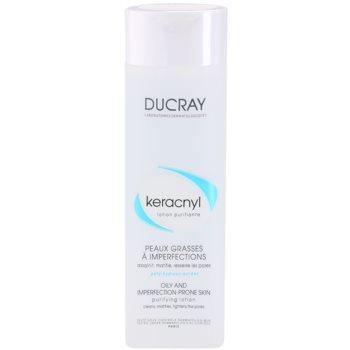 Ducray Keracnyl acqua detergente per pelli grasse e problematiche (Purifying Lotion For Oily And Imperfection Prone Skin) 200 ml