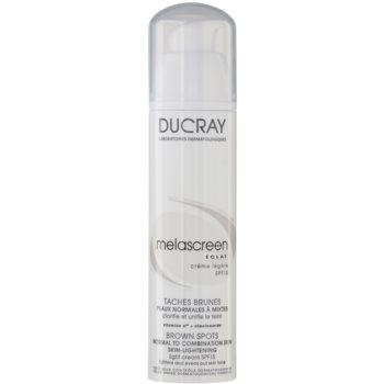 Ducray Melascreen crema giorno leggera contro le macchie della pelle SPF 15 (Depigmenting Light Cream) 40 ml