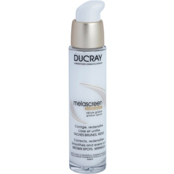 Ducray Melascreen siero lisciante contro macchie della pelle e rughe 30 ml