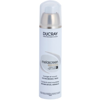 Ducray Melascreen crema notte nutriente contro macchie della pelle e rughe (Corrects and Nourishes) 50 ml