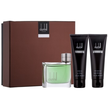 Dunhill Dunhill kit regalo III eau de toilette 75 ml + balsamo post-rasatura 90 ml + gel doccia 90 ml