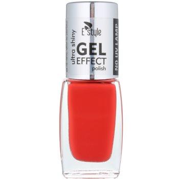 E style Gel Effect smalto gel per unghie senza lampada UV/LED colore 05 Apple Red 10 ml