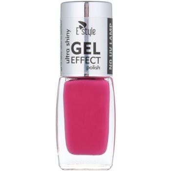 E style Gel Effect smalto gel per unghie senza lampada UV/LED colore 12 Hot Pink 10 ml