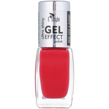 E style Gel Effect smalto gel per unghie senza lampada UV/LED colore 13 Fresh Fruits 10 ml