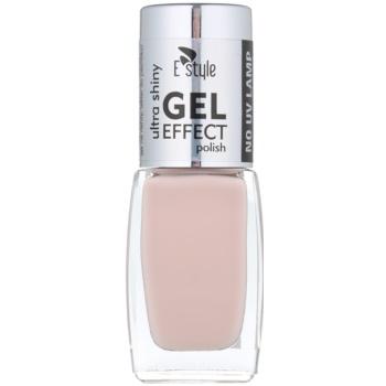 E style Gel Effect smalto gel per unghie senza lampada UV/LED colore 19 Discreet 10 ml