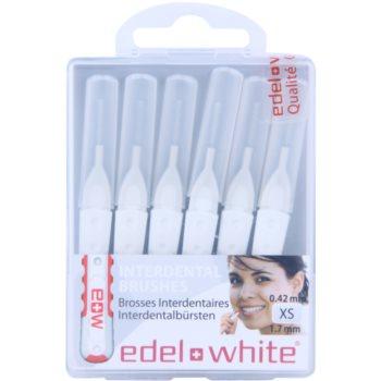Edel+White Interdental Brushes scovolini interdentali 6 pz White XS (0,42/1,7 mm)