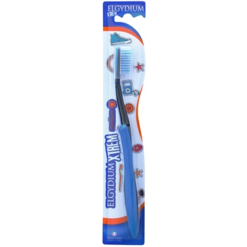 Elgydium XTrem spazzolino da denti medium Blue