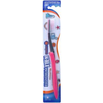 Elgydium XTrem spazzolino da denti medium Pink