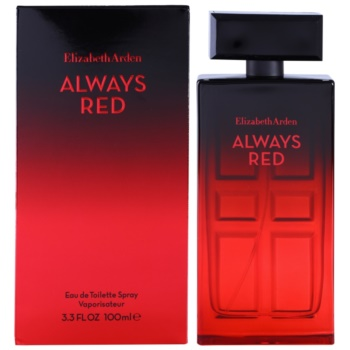 Elizabeth Arden Always Red eau de toilette per donna 100 ml