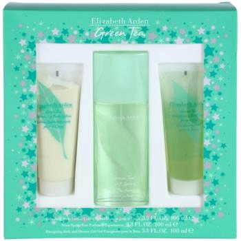 Elizabeth Arden Green Tea kit regalo XXIV. eau de parfum 100 ml + latte corpo 100 ml + gel doccia 100 ml
