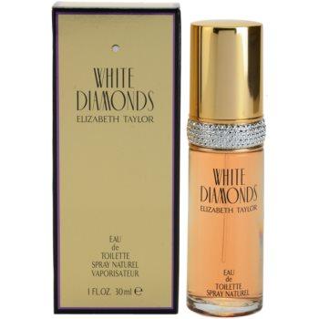 Elizabeth Taylor White Diamonds eau de toilette per donna 30 ml