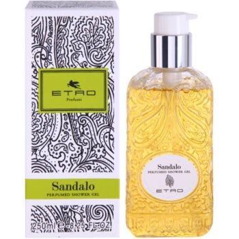 Etro Sandalo gel doccia unisex 250 ml