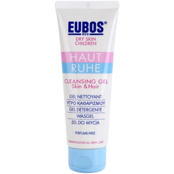 Eubos Children Calm Skin gel detergente delicato con aloe vera Skin & Hair (With Natural Lavender Oil, Perfume-Free ) 125 ml