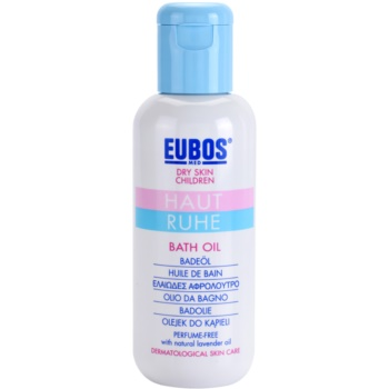 Eubos Children Calm Skin olio da bagno per pelli delicate e lisce (With Natural Lavener Oil, Perfume-Free) 125 ml