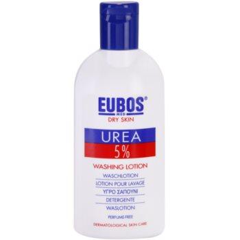 Eubos Dry Skin Urea 5% sapone liquido per pelli molto secche (Without Perfume, Alkaline Soap and Colorants) 200 ml
