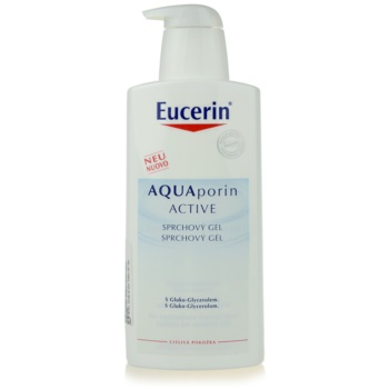 Eucerin Aquaporin Active gel doccia per pelli sensibili (Shower Gel) 400 ml
