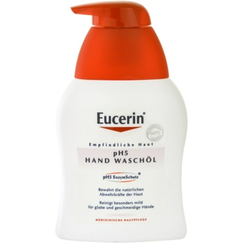 Eucerin pH5 sapone all'olio per pelli sensibili (pH5 Hand Wash Oil) 250 ml