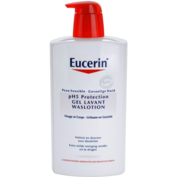 Eucerin pH5 crema doccia per pelli sensibili (Wash Lotion) 1000 ml
