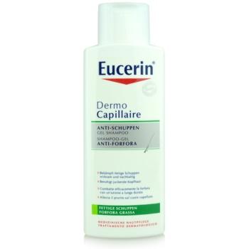 Eucerin DermoCapillaire shampoo contro la forfora grassa (Anti-Dandruff Shampoo) 250 ml