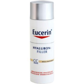 Eucerin Hyaluron-Filler CC cream antirughe profonde SPF 15 colore Light/Natural 50 ml