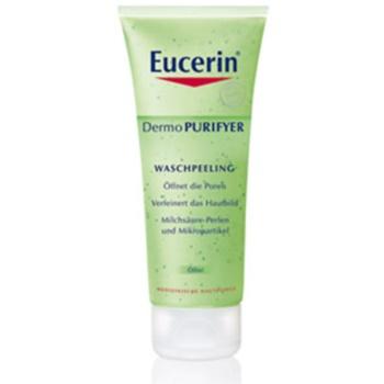 Eucerin Dermo Purifyer scrub detergente per pelli problematiche, acne (Face Peeling) 100 ml
