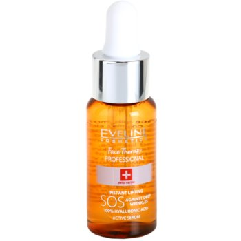 Eveline Cosmetics Face Therapy siero viso antirughe (Active Serum 100% Hyaluronic Acid) 20 ml