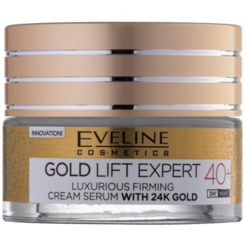 Eveline Cosmetics Gold Lift Expert crema rassodante di lusso con oro a 24 carati (40+, Day & Night Care) 50 ml