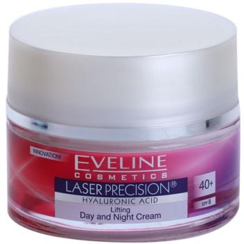 Eveline Cosmetics Laser Precision crema giorno e notte antirughe 40+ 50 ml