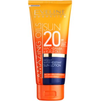 Eveline Cosmetics Sun Care latte abbronzante SPF 20 (Macadamia & Kukui Oils) 200 ml