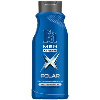 Fa Men Xtreme Polar gel doccia per corpo e capelli (Air-Conditioning Effect) 400 ml