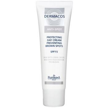 Farmona Dermacos Anti-Spot crema giorno protettiva per la prevenzione delle macchie della pelle SPF 15 50 ml