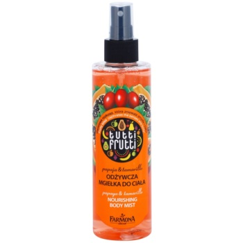 Farmona Tutti Frutti Papaja & Tamarillo spray corpo effetto nutriente 200 ml