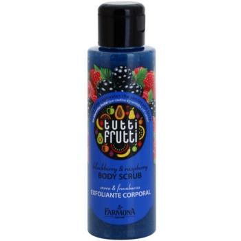 Farmona Tutti Frutti Blackberry & Raspberry scrub corpo (Fruity Bliss Captivates the Senses and Body) 100 ml