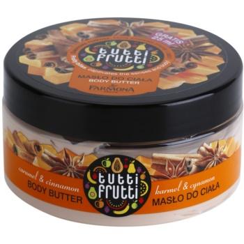 Farmona Tutti Frutti Caramel & Cinnamon burro corpo (Fruity Bliss Captivates the Senses and Body) 275 ml